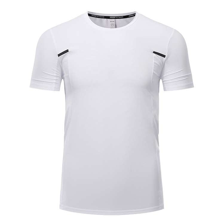 两侧反光T恤短袖