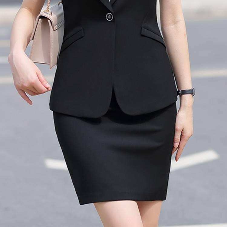 QY 327# 职场女性西装短裙
