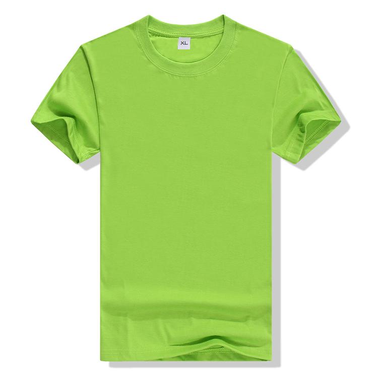 MJW-019# 200克 CVC 圆领T恤